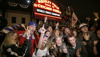 Image: It happened! Cubs win ends World Series drought