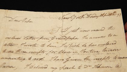 Image: Alexander Hamilton's letters to be auctioned in NYC