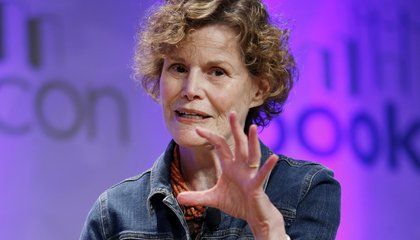"Image: Judy Blume speaks about her career and what it means to write a ""Banned Book"""