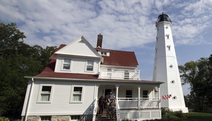 Image: Historic lighthouses come with high costs