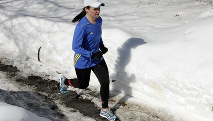 Image: She wants to run 7 marathons in 7 days on 7 continents