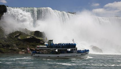 Image: A barrel of fun: Niagara Falls touts thrills in rebranding
