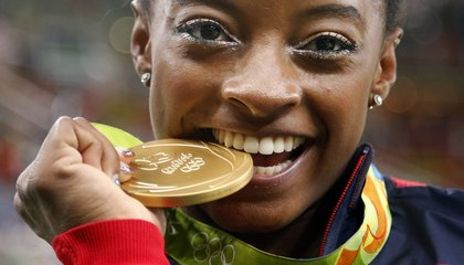 Image: Simone Biles soars to AP Female Athlete of the Year