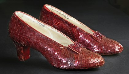 Image: Smithsonian saves Dorothy's ruby slippers