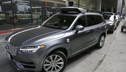 Image: Uber self-driving cars hit the streets of San Francisco