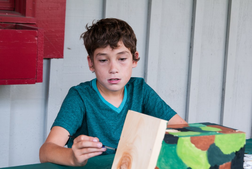 At Florence art camp, kids leave technology at home