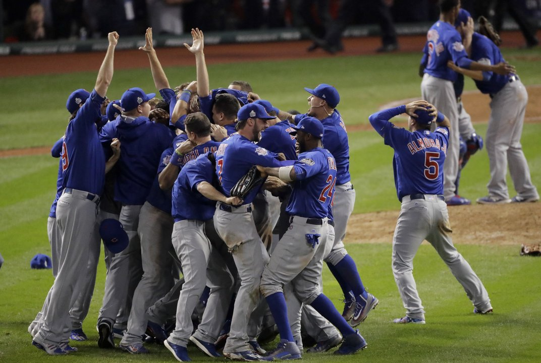It happened! Cubs win ends World Series drought