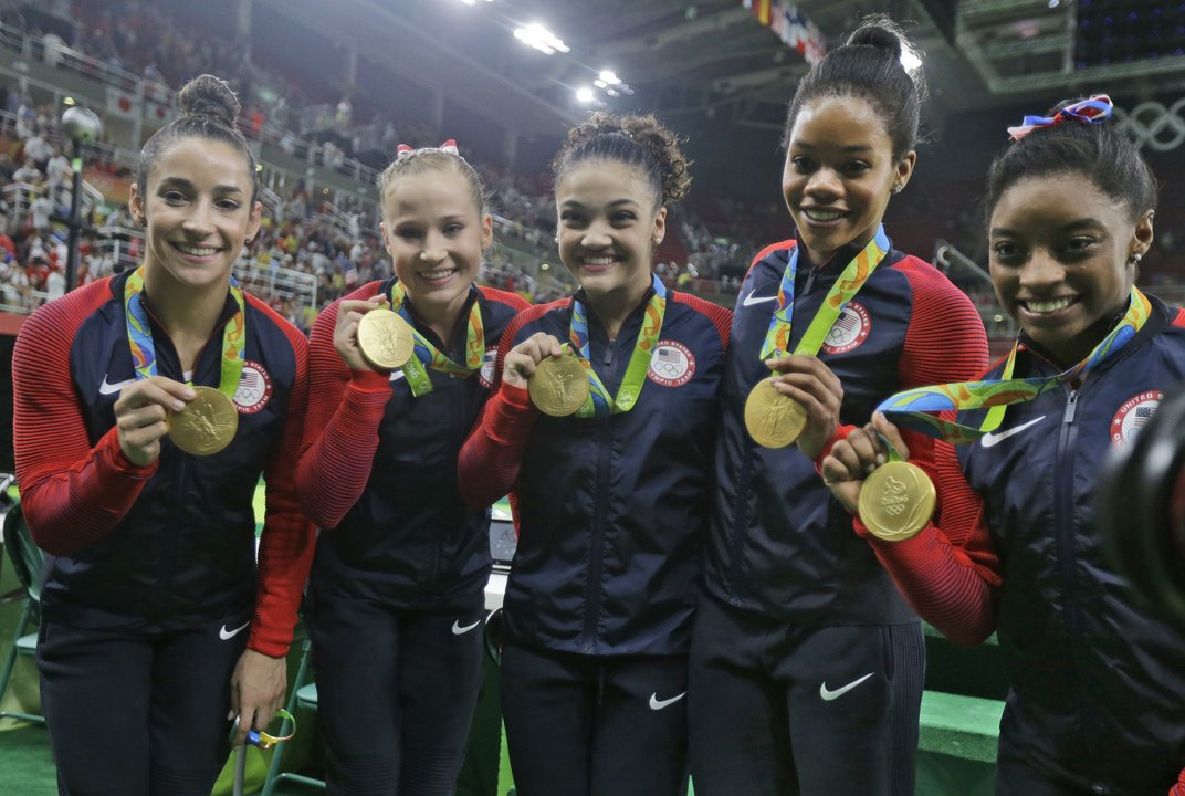 """Final Five"" win one more gymnastics gold for Karolyi"