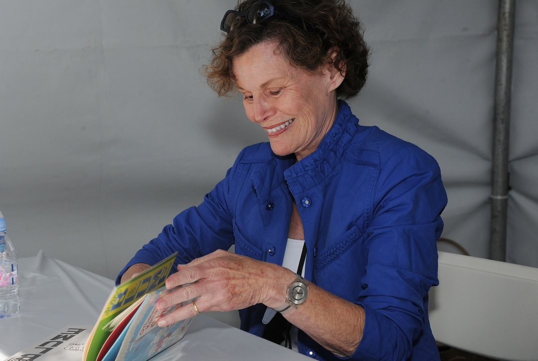 "Judy Blume speaks about her career and what it means to write a ""Banned Book"""