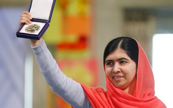 Youngest Nobel Peace Prize winner stresses education