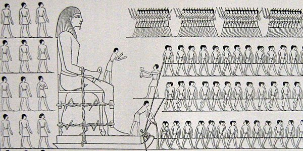 How were the pyramids built? Maybe with water